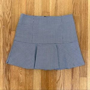 THEORY Gida Houndstooth Skirt